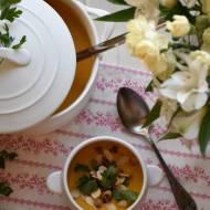 Zupa marchewkowo – kokosowa