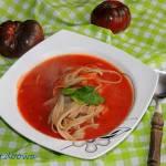 Zupa - szybki krem pomidorowy
