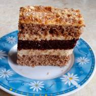 Ciasto karmelowe warstwowe