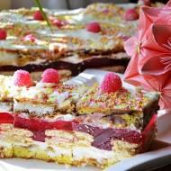 ,,Ciasto różowa bajka''