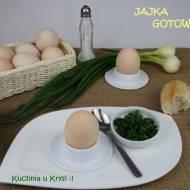 Jajka gotowane... na miękko, na twardo, w koszulce