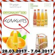 KONKURS - Di gotuje & Oryginalnysok - do wygrania zestaw soków i gadżety niespodzianki