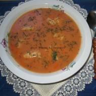 Zupa pomidorowa z rybą