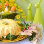 Babka cytrynowa z olejem rzepakowym