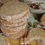 Ciasteczka sezamowe. Ciastka z sezamem.