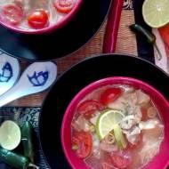 Kwasno - pikantna zupa z kurczakiem