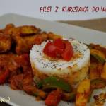 Filet z kurczaka po węgiersku
