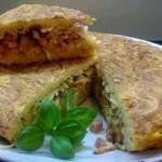 Smażony makaron czyli frittata z makaronem