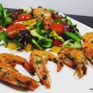 KREWETKI W MAŚLE CZOSNKOWYM (keto, LCHF, optymalne, bez glutenu)