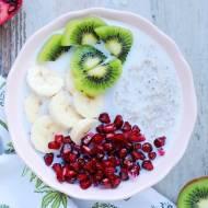 Płatki gryczane z owocami