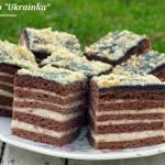 """ciasto """"Ukrainka"""""""