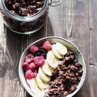 Czekoladowa granola dla łasuchów