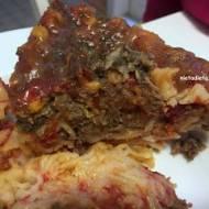 Lasagna wegańska, bez glutenu