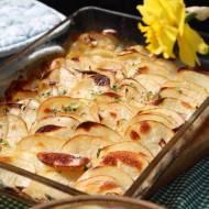 """Ziemniaki z piekarnika, ziemniaki """"Boulangere"""""""