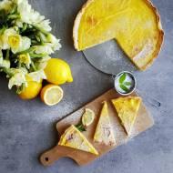 Orzeźwiająca Tarta Cytrynowa