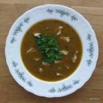 Pieczona zupa krem z kurczaka