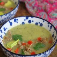 Zupa krem z pora i cukinii