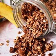proteinowa granola czekoladowo-orzechowa