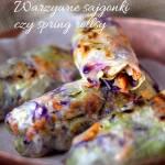 Warzywne sajgonki czy spring rollsy, nazywajcie je jak chcecie, są po prostu boskie w smaku!