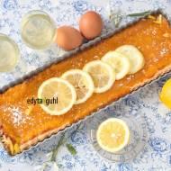 Tarte au citron Madame de Dumont, czyli tarta cudownie cytrynowa