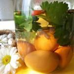 Cykl wielkanocny: Jajka marynowane w przyprawach (Uova marinate alle spezie)