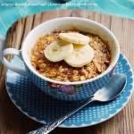 PROJEKT ŚNIADANIE: Śniadaniowe ciastko owsiane z kubka