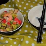 Sałatka krewetkowa z wasabi