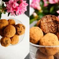 Zdrowe trufle czekoladowo-chałwowe (5 składników)