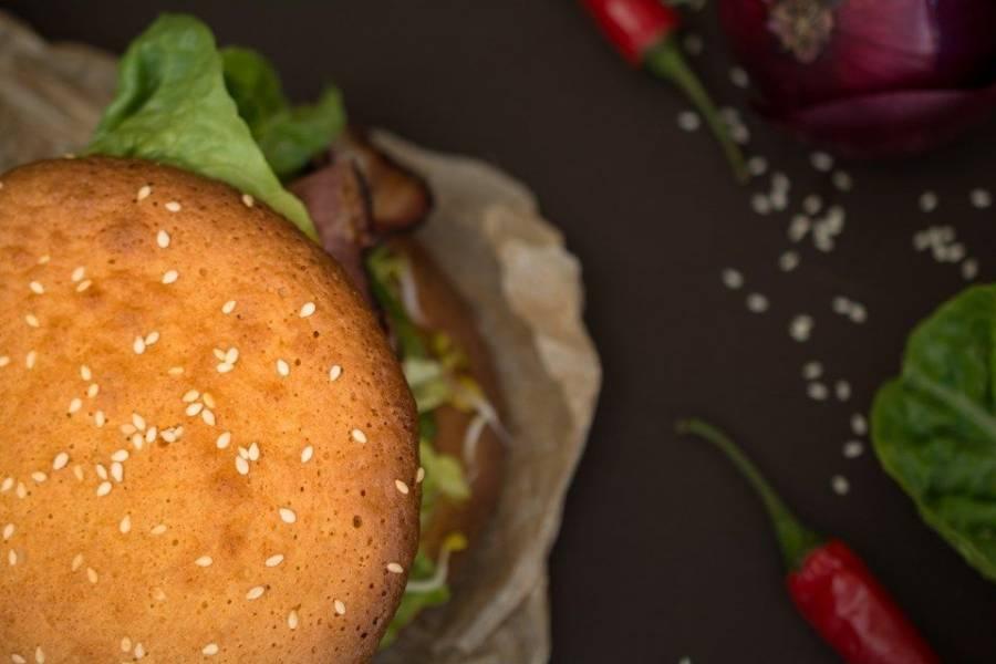Bezglutenowa bułka do burgera! (paleo)