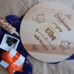 Prezenty od my gift dna i przepis na czekoladowe ciasteczka z grawerem...