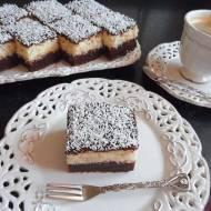 Brownies z Kokosem (Ciasto a'la Bounty)