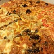 WEEKENDOWA PIZZA - bez glutenu, bez laktozy, bez jajek
