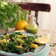 Dietetyczna sałatka libańska z kaszą i jarmużem!