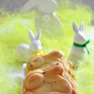 Muffinkowe króliczki z gorzką czekoladą