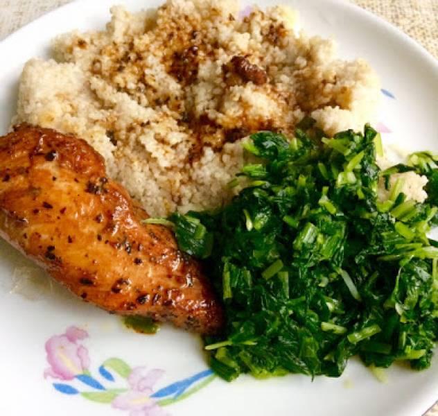 Przepis Na Fit Obiad Piers Z Kurczaka Z Kasza I Czosnkiem