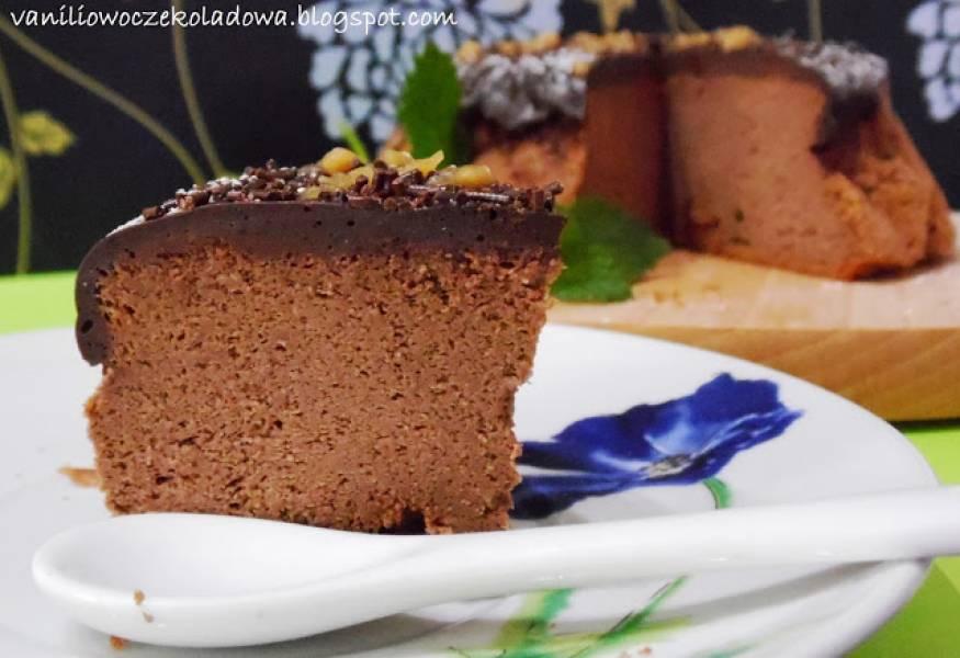 Sufletowy sernik podwójnie czekoladowy (gluten free)