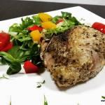 KACZKA PIECZONA Z JABŁKAMI (keto, LCHF, optymalna, paleo, bez glutenu, jajek i laktozy)