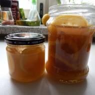 Cytrynki z imbirem do herbaty i deserów