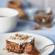 Pełnoziarniste orkiszowe ciasto z pasternakiem (bez cukru)