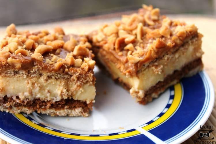 Ciasto krówka - bez pieczenia!