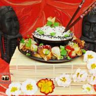 Chińszczyzna z ryżem basmati