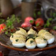 Jaja faszerowane ze śledziem