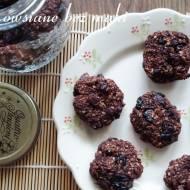 Kakaowe ciasteczka owsiane bez mąki