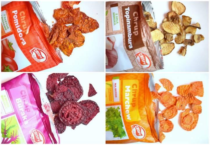 Warzywne chipsy Crispy Natural :)