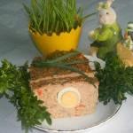 Wielkanocna pieczeń rzymska z jajkiem