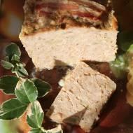 Klops mięsny z pieczarkami