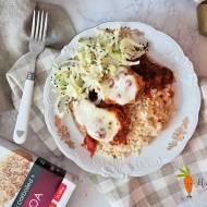 Kurczak w sosie włoskim z mozzarellą