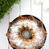 Marmurkowa, łaciata babka z czekoladą
