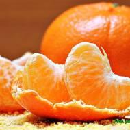Pyszny sernik wiedeński z mandarynkami.