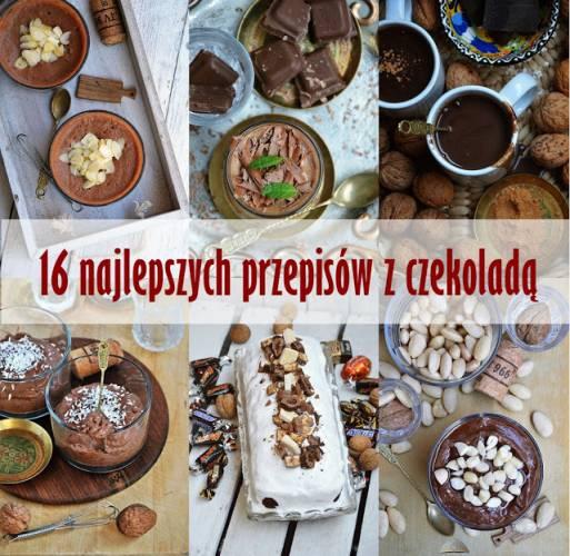 16 najlepszych przepisów z czekoladą